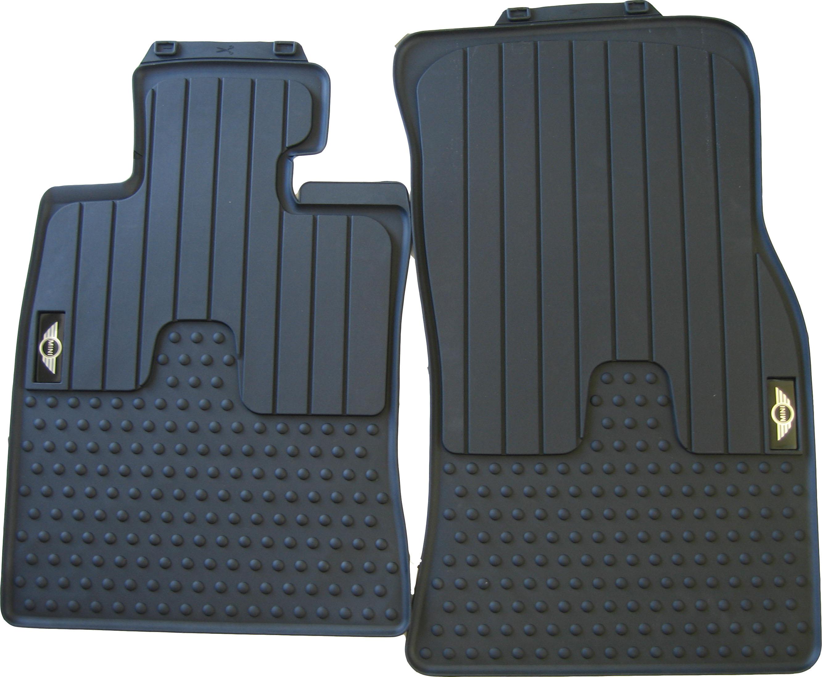 Gummifussmatten Mini Cooper Bj 01-14 Automatten Fußmatten Passform schwarz