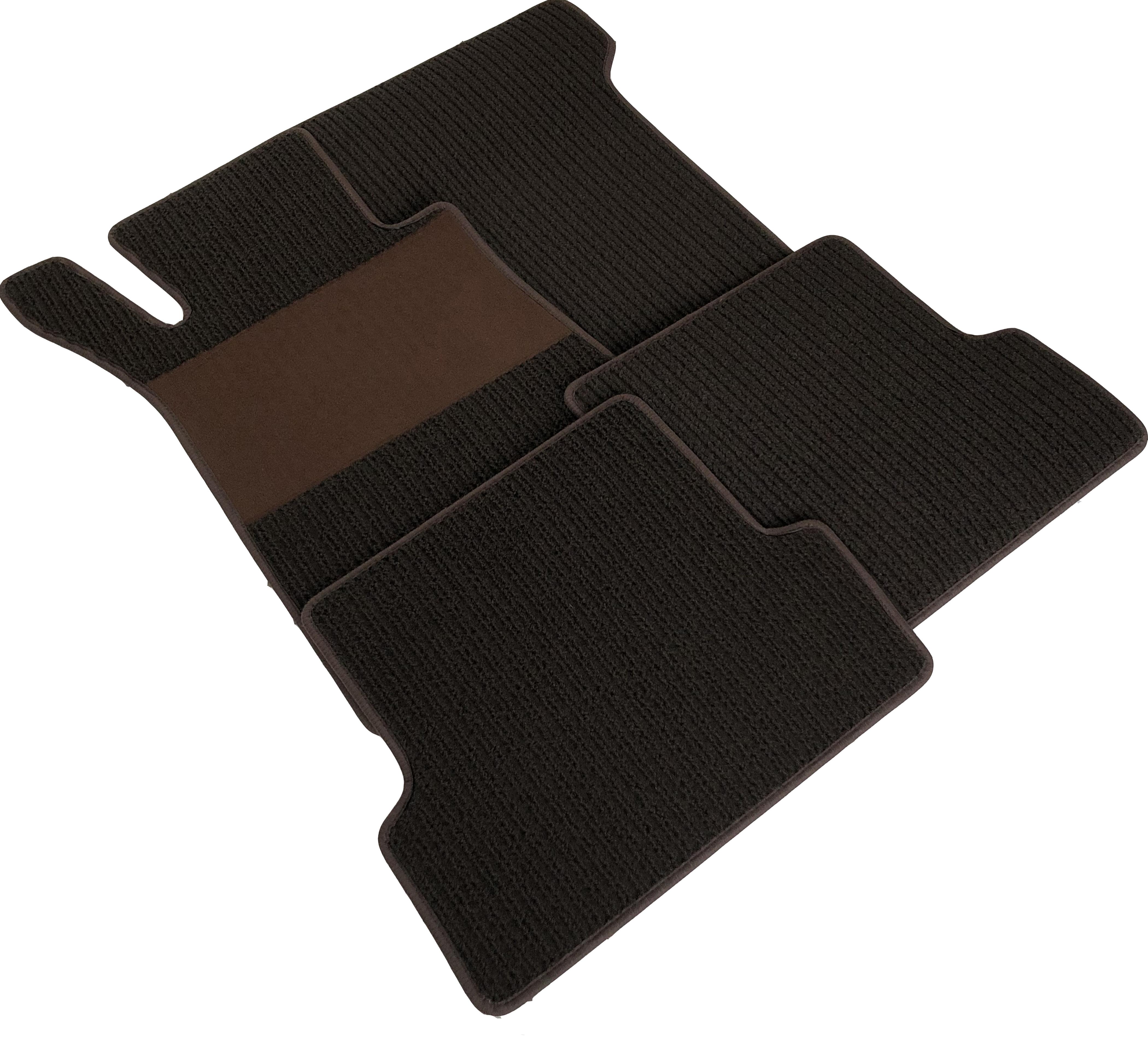 Velours dunkelblau Fußmatten für OPEL SENATOR A Bj.78-86